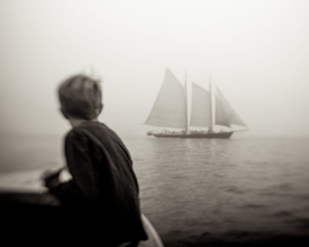 Mac and the Schooner by Sal Taylor Kydd