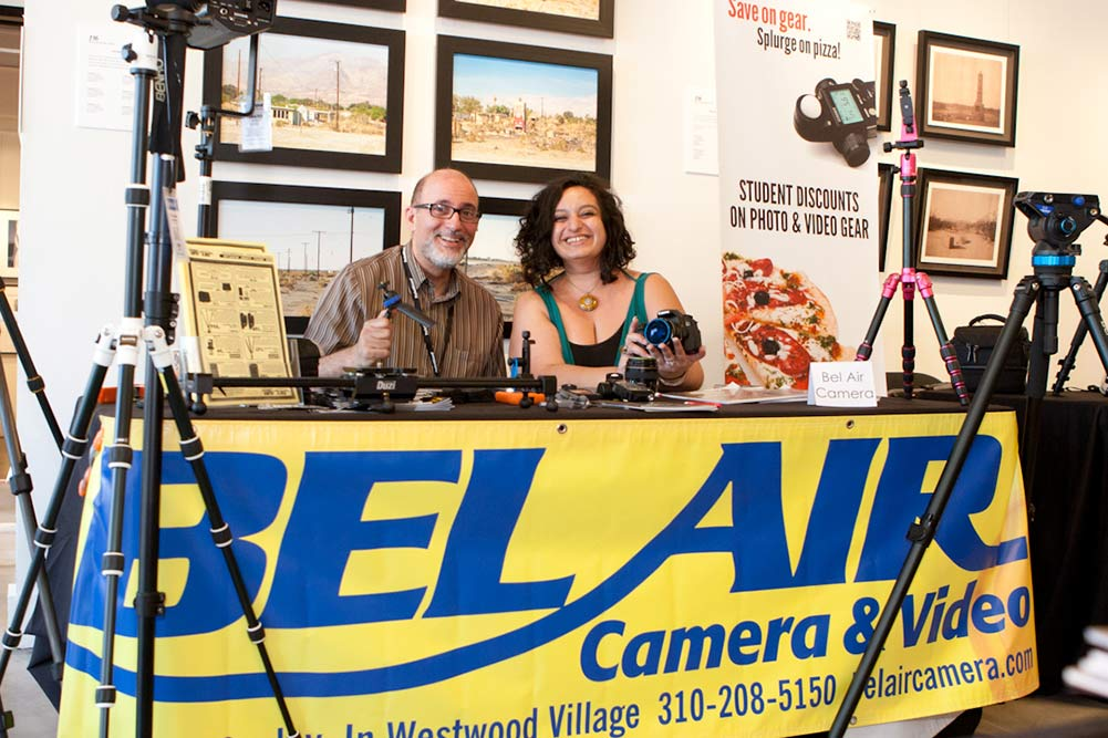 LACP corparte partner Bel Air Camera at the 2015 Spring Open House