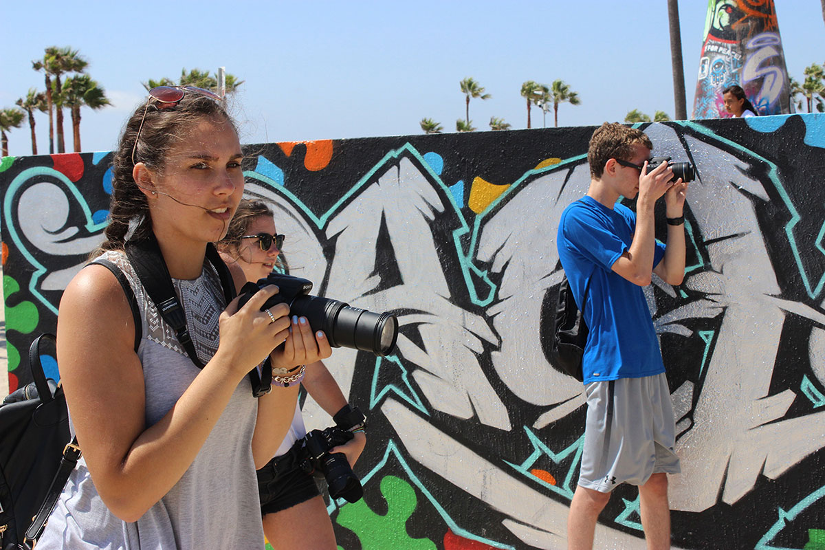 Intermediate Digital Photography for Teens (ages 12-18) with Jasmine Lord (One week – Summer)