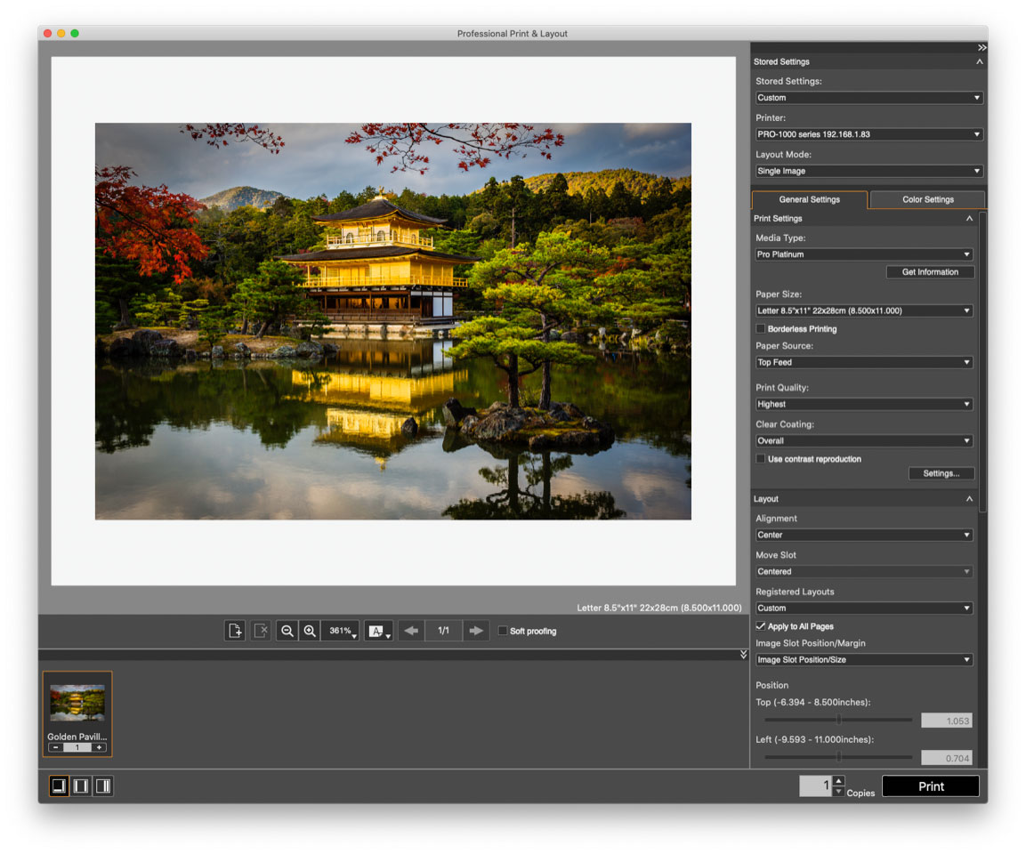 Introduction to Canon Professional Print & Layout with Eric Joseph (Online Learning – One session) – May 5