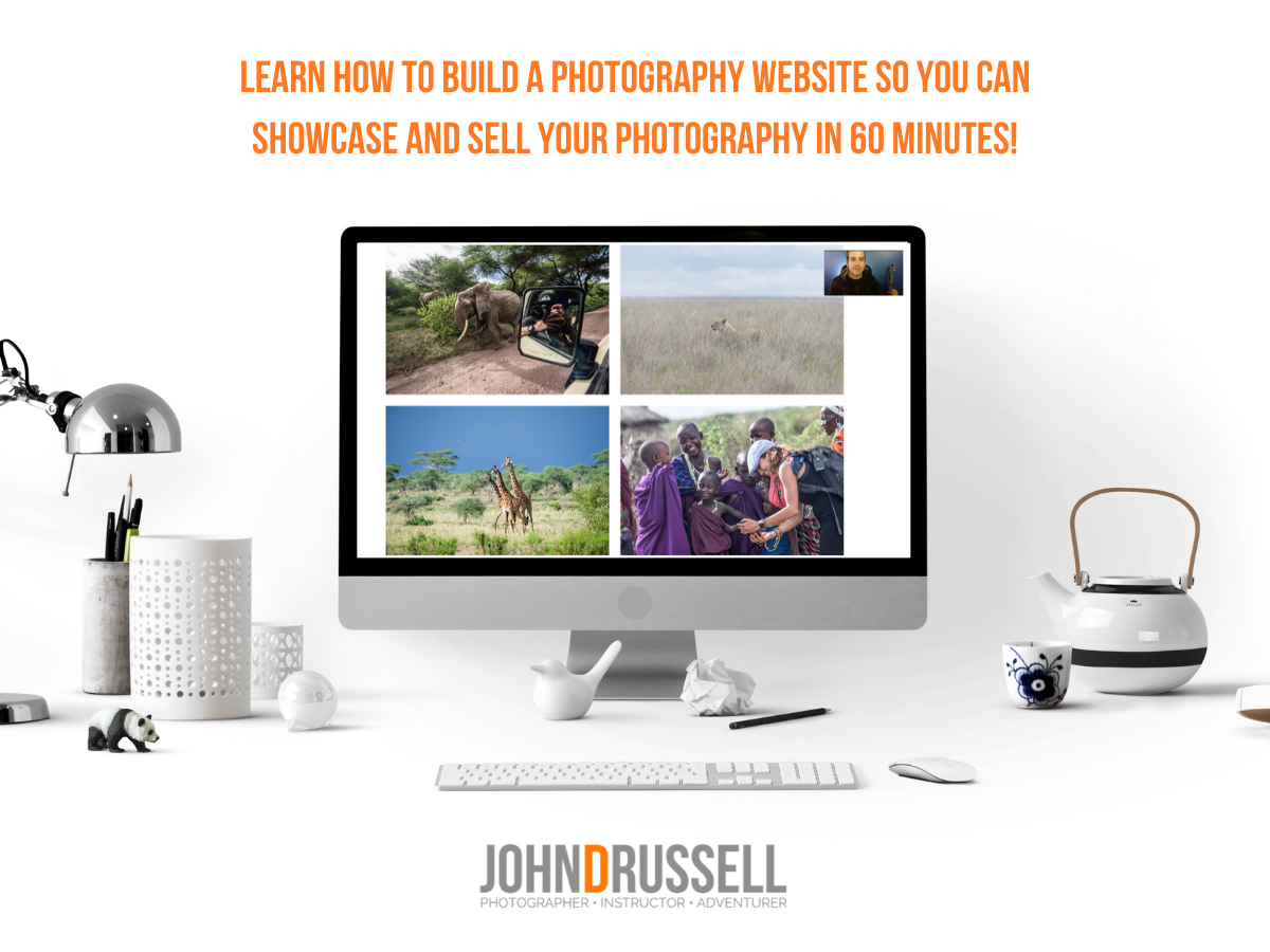 How to Build a Website to Showcase Your Portfolio and Sell Your Work with John D. Russell (Webinar)