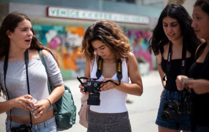 Basic Digital Photography for Teens (ages 15-18) with Amy Tierney (One week – Summer)