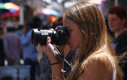 Basic Digital Photography for Teens (ages 12-18) with Amy Tierney (One week) – Summer