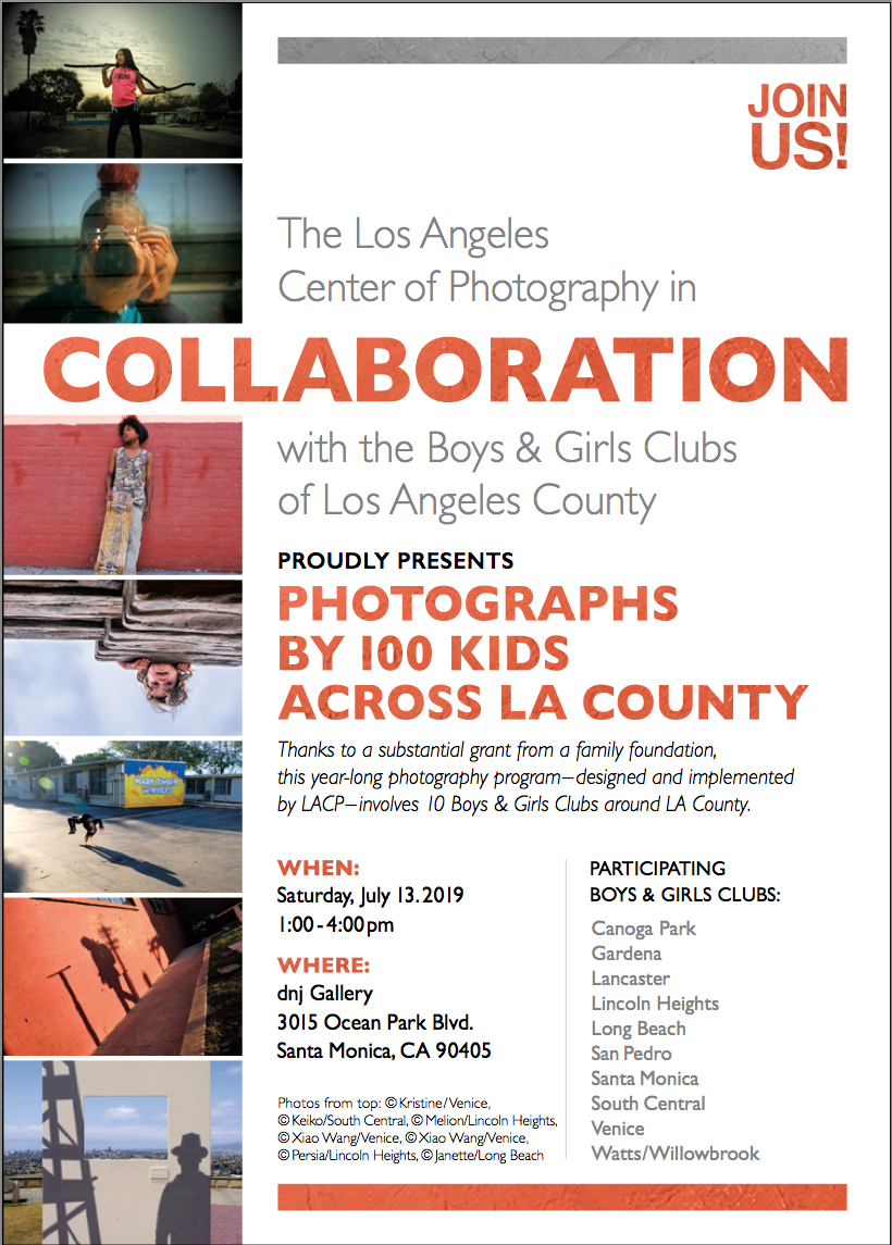 """LACP presents """"Collaboration"""" with the Boys & Girls Clubs of Los Angeles County"""