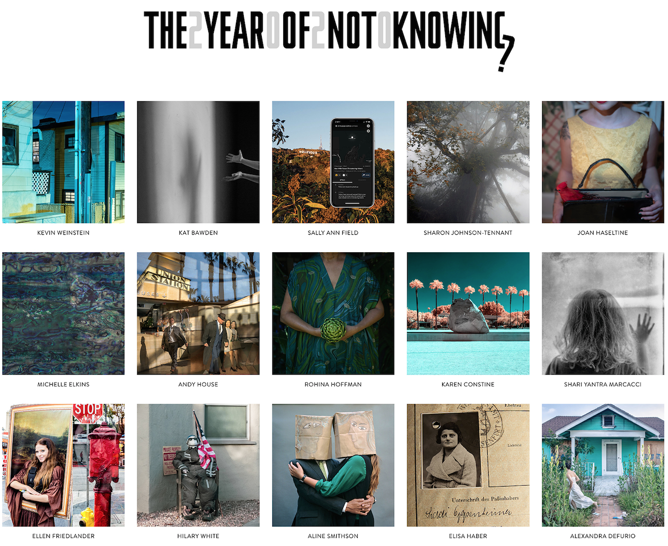 The Year of Not Knowing – Artist Talks – Jan 19
