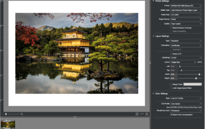 Introduction to Epson Print Layout with Eric Joseph (Online Learning – One session) – April 7